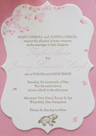 wedding program wording exles inspirational wedding invitation wording separate ceremony and