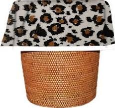 Amazoncom Designerliners Black Leopard Eco Green Biodegradable - Bathroom trash bags