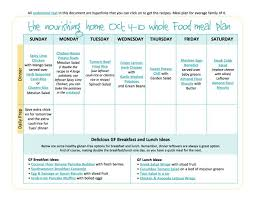 bi weekly whole food meal plan sept 27 u2013oct 10 u2014 the better mom