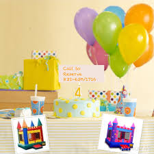 rent party supplies bounce houses for rent party supplies yoyo s bounce house and