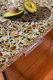 recycled glass countertop so cool i have wanted these counter