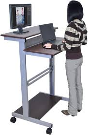 Mobile Computer Desk 46 Best Home Office Images On Pinterest Standing Desks Home