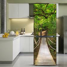Wall Mural Dense Forests Peel Compare Prices On Waterproof Door Online Shopping Buy Low Price