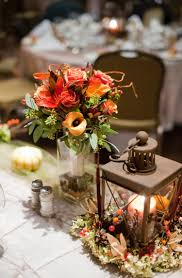 Shabby Chic Wedding Centerpieces by Shabby Chic Burlap Fall Rustic Autumn Bouquet Brown