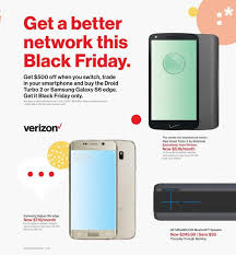 verizon s black friday and cyber monday deals revealed