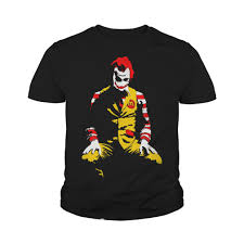 Ronald Mcdonald Halloween Costume Ronald Mcdonald Joker Parody Halloween Costume Shirt Sweater
