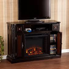 Fireplace Console Entertainment by Amazon Com Marianna Media Fireplace Ebony W Reversible Dark