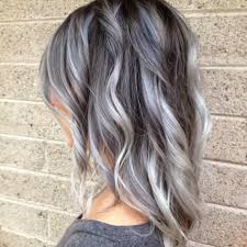 how to blend grey hair with highlights 30 looks that prove balayage hair is for you balayage blue grey