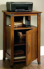 Laptop Desk With Printer Shelf Laptop Storage Printer Storage Furniture Desk With Printer Storage