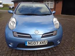 nissan micra 2007 used 2007 nissan micra sport cc for sale in staffs pistonheads
