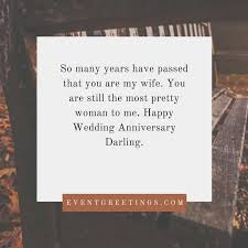 Wedding Wishes Husband To Wife Happy Wedding Anniversary Wishes For Wife U2013 Events Greetings