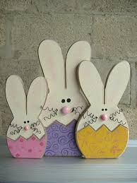 Easter Bunny Lawn Decoration Kit by Bunnies Would Be So Cute In The Flower Beds Peeking Out Craft
