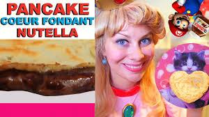 fait sa cuisine pancake fondant nutella virginie fait sa cuisine 45