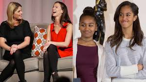 bush daughters advise obamas on life after white house sbs news
