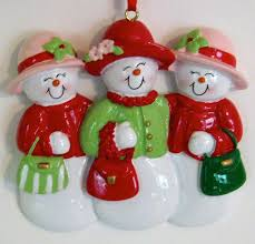 rudolph and me snow friends 3 women christmas ornament amazon co