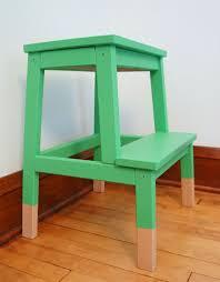 bekvam oakland avenue diy dipped ikea bekvam step stool hack chalk paint
