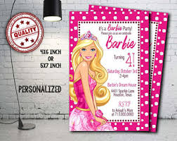 facebook themes barbie barbie party etsy