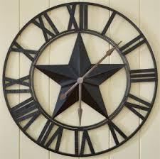 metal wall clocks large open travel