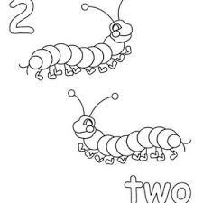 learn number 2 with two sunflowers coloring page bulk color