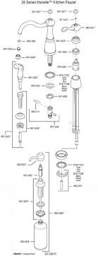 pfister kitchen faucet parts fisher faucet parts padlords us