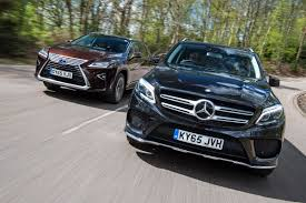 lexus vs mercedes sedan mercedes gle vs lexus rx auto express