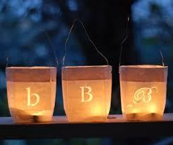 How To Make Paper Light Lanterns - diy project paper bag lanterns design sponge