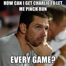 Funny Meme Generator - dugout thinker cole hamels meme generator the good phight