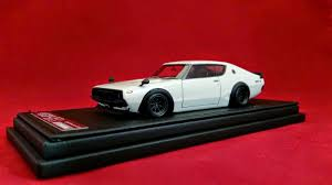 nissan kenmeri just released ignition models 1 43 nissan skyline gt r kpgc 110