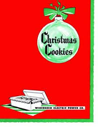 1953 wisconsin electric company christmas cookie cookbook family