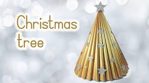 diy christmas crafts christmas tree recycling a magazine innova