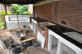 aussenküche bauanleitung memyself s aussenküche bbq pit mit monolith und firemagic