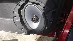 jeep patriot speakers jeep patriot factory speakers vs alpine spe 6090