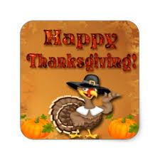 thanksgiving seal stickers zazzle