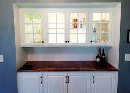 bar cabinet built in traditional kitchen new york by