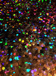 holographic glitter bright colorful rainbow holographic glitter texture stock photo