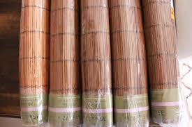decorating matchstick bamboo shades home depot bamboo blinds