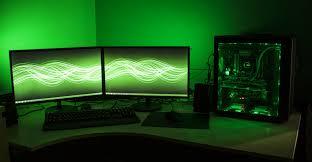 Computer Setup Room Cool Computer Setups And Gaming Programming Setup Alluring Boys