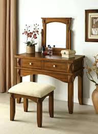 mirrored bedroom vanity table cherry bedroom vanity home co vanity set color cherry vintage