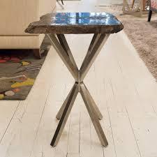 bernhardt petrified wood side table black petrified wood table bernhardt interiors luxe home