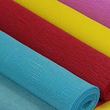 where to buy crepe paper sheets crepe paper rolls 1 05 per roll 19 3 yards per roll 35 colors