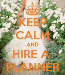 your wedding planner hiring a wedding planner