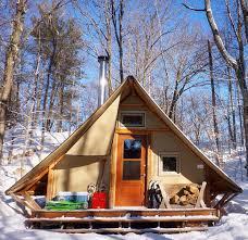prospector style tent an off grid tiny house alternative