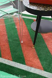 astroturf diy painted astroturf rug perfect for summer events