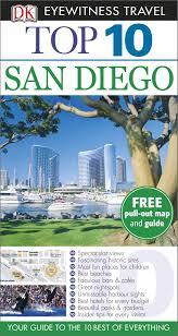 San Diego Beaches Map by Dk Eyewitness Top 10 Travel Guide San Diego Dk 9781409373568