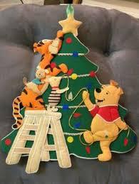 Winnie The Pooh Christmas Tree Decorations Winnie The Pooh Christmas By Moonlightdecorator On Etsy 20 00