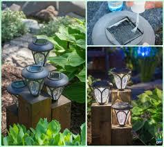 Solar Lighting For Gardens by Diy Solar Light Craft Ideas For Home And Garden Lighting