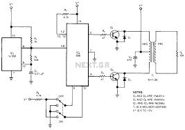 Cl 2 Transformer Wiring Diagram High Voltage Circuit Power Supply Circuits Next Gr