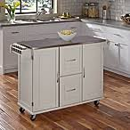 home styles the orleans kitchen island with quartz top bed bath