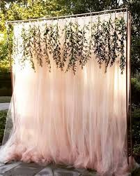 wedding backdrop rustic rustic outdoor backyard tulle wedding backdrop ideas