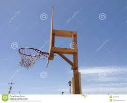 wood basketball hoop stock photo image 42203348